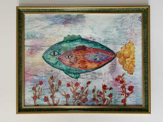 Yelyzaveta Cherednichenko. Fischfamilie(fish family) - photo 2