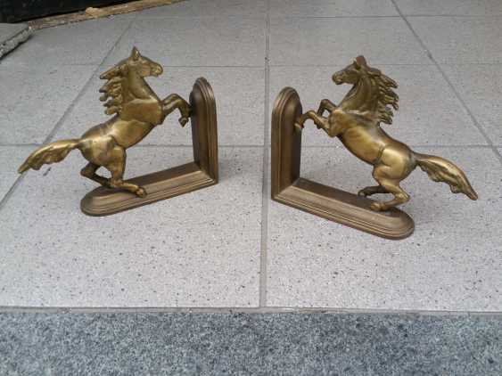 Lukas Erzroll. Two Horses Figures - photo 1