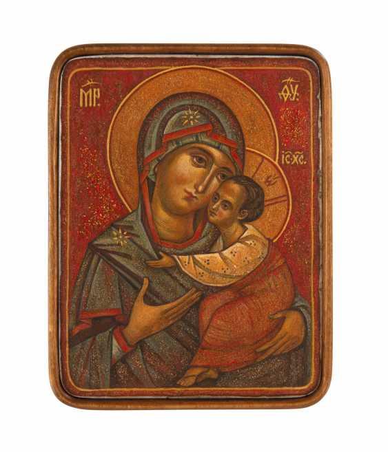 "Aliona Gordon. ""Virgin of Vladimir "" - photo 1"