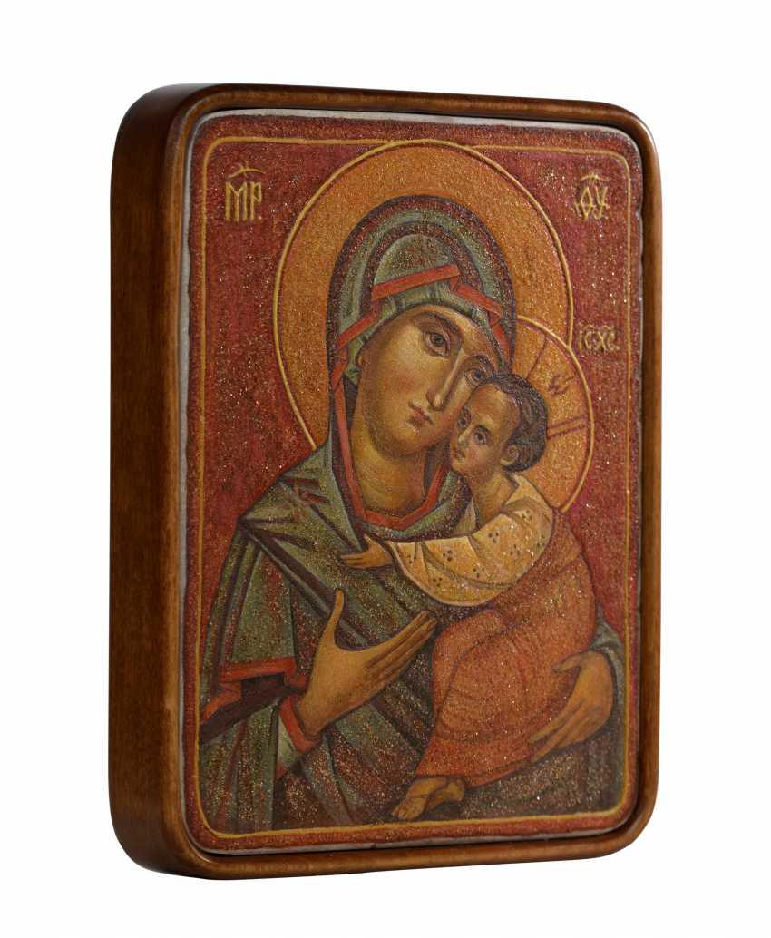 "Aliona Gordon. ""Virgin of Vladimir "" - photo 2"