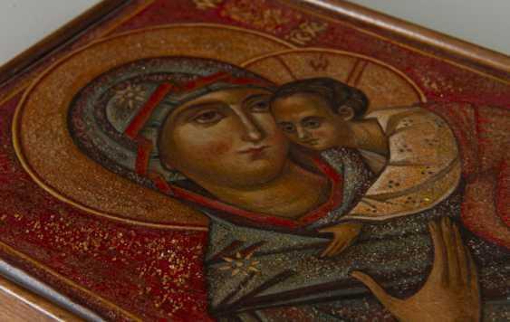 "Aliona Gordon. ""Virgin of Vladimir "" - photo 4"