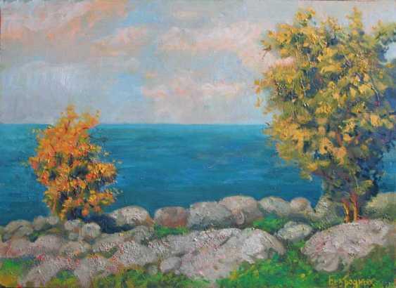 Alexander Bezrodnykh. The sea with steep banks - photo 1
