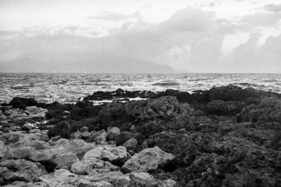 "Adam Kypriadis. ""Rocky seascape"", Shot on film - photo 1"
