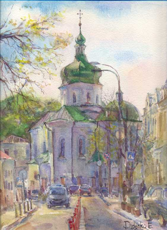 Elena Didenko. The Church of St. Nicholas Pritiska at the hem. - photo 1