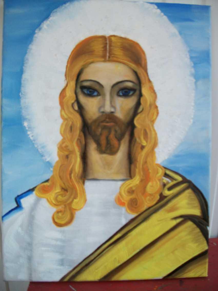 """Alla \almoro\ Morozova. """"JESUS CHRIST. The DESCRIPTION of E. ROERICH"""" - photo 1"""