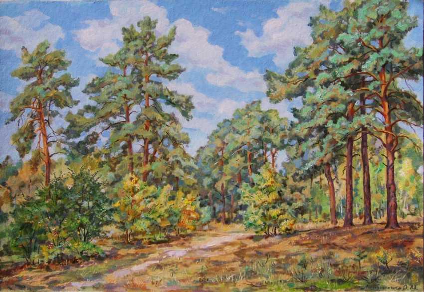 Oleg Lytvynenko. La forêt sur la colline. - photo 1