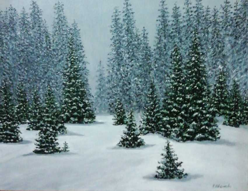 Lidiya Ivanova. Winter forest - photo 1