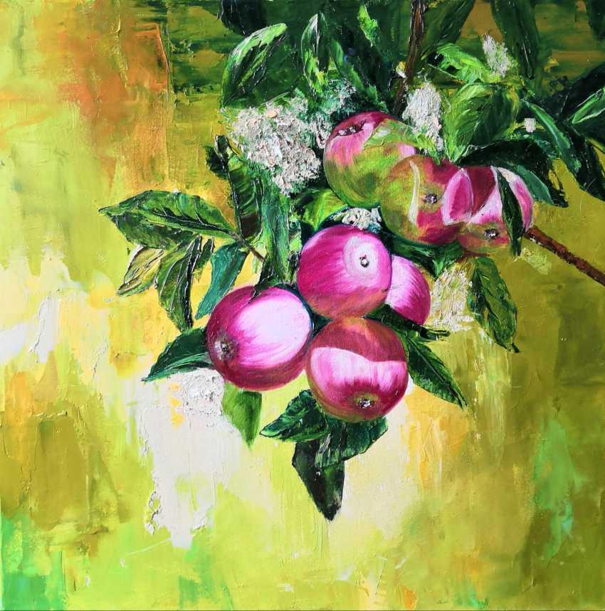 Ludmila Riabkova. Apple tree branch, Apple tree Branch - photo 1