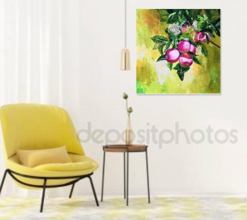 Ludmila Riabkova. Apple tree branch, Apple tree Branch - photo 2