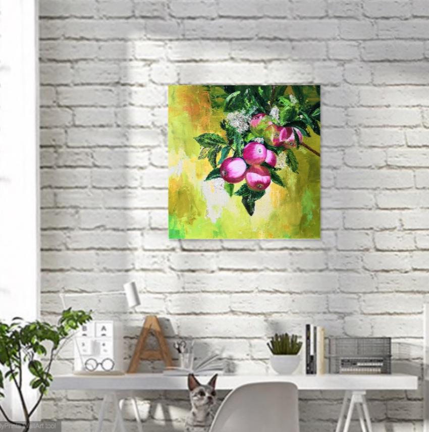 Ludmila Riabkova. Apple tree branch, Apple tree Branch - photo 4