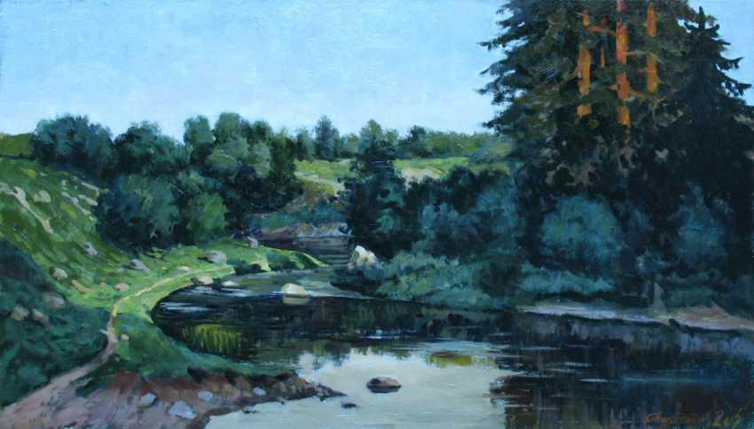 Alexander Bezrodnykh. Morning on the river. - photo 1
