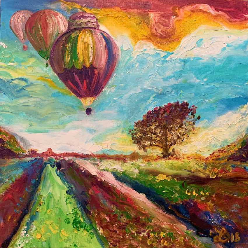 Diana Grechuk. Balloons - photo 1