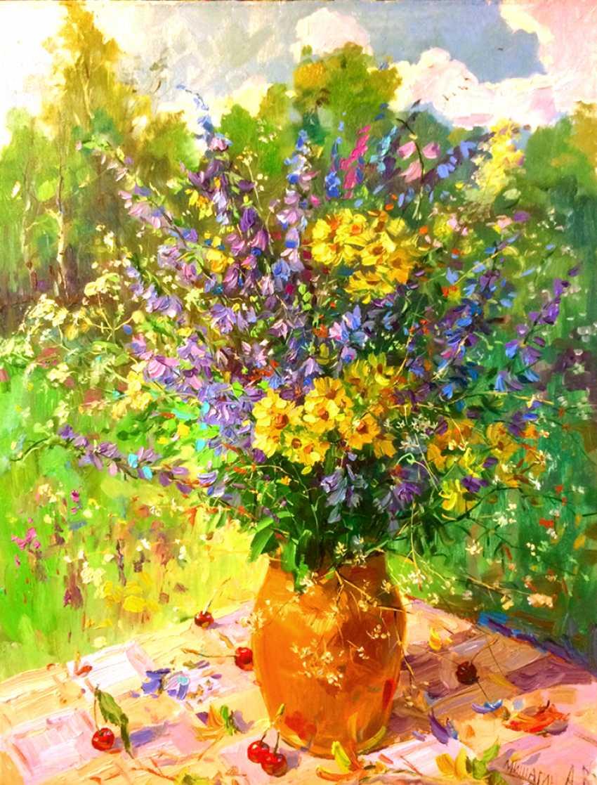 Andrey Mishagin. Bouquet with bells - photo 1