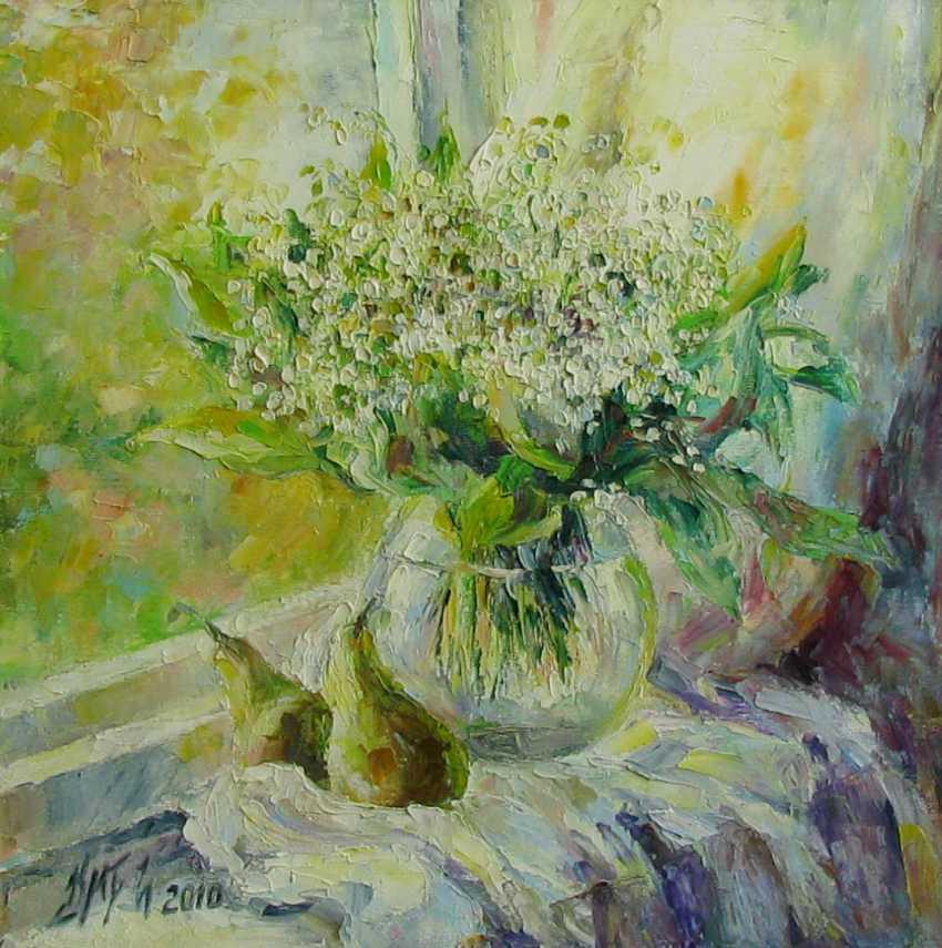 Irina Kruglova. Lilies on the window - photo 1