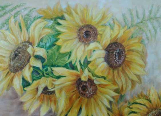 Oksana Borovik. Still life with sunflowers - photo 2