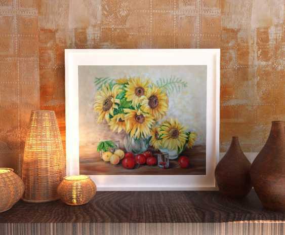 Oksana Borovik. Still life with sunflowers - photo 3