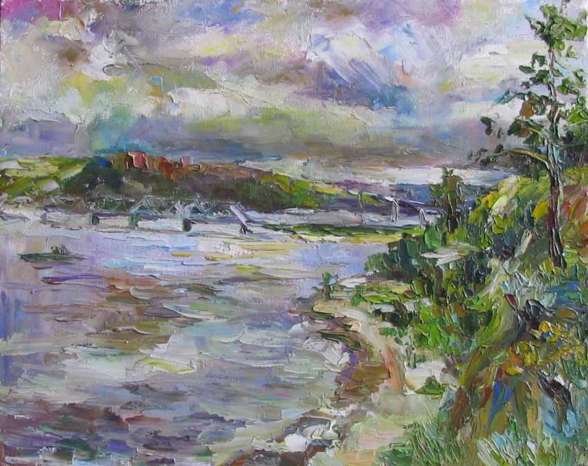 Irina Kruglova. Bridges on the Volga - photo 1