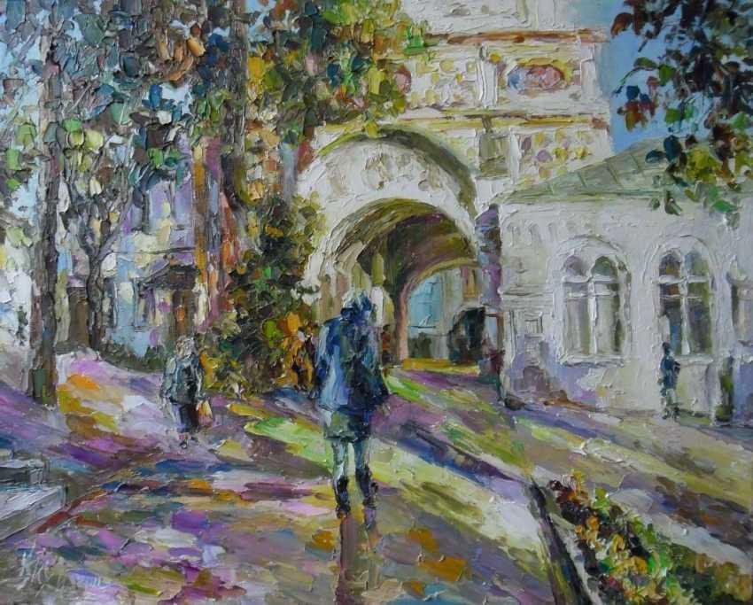 Irina Kruglova. The gate of the temple - photo 1