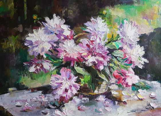 Irina Kruglova. Peonies in the garden - photo 1