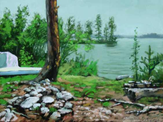 Alexander Bezrodnykh. Parking.lake Vuoksa - photo 1