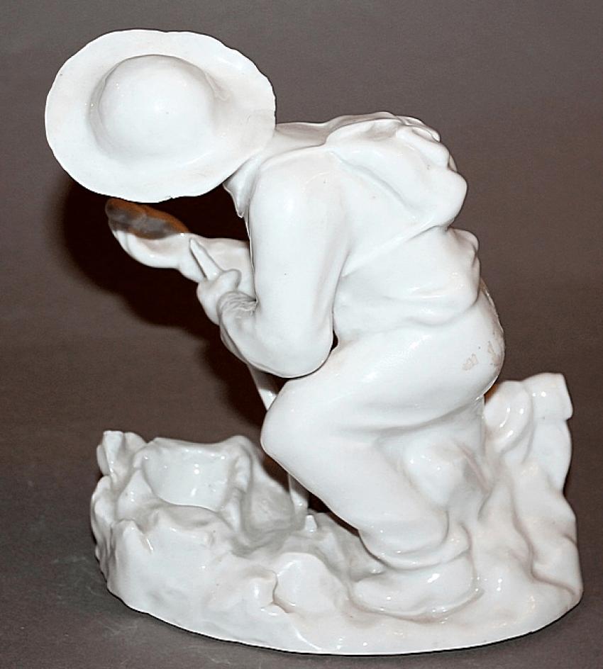 USSR, 1949, porcelain, sculptor fish - photo 2