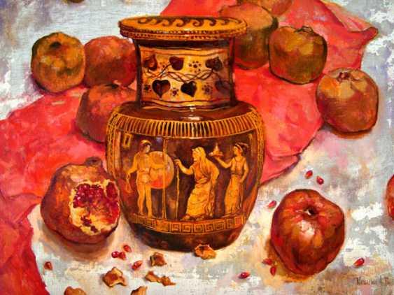 Andrey Mishagin. still life with pomegranates - photo 1