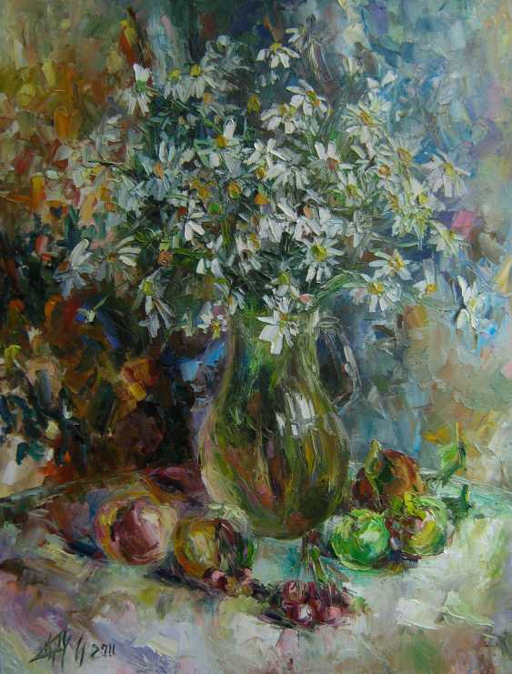 Irina Kruglova. Chamomile with fruit - photo 1