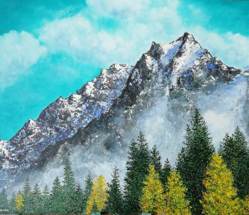 Lidiya Ivanova. Autumn in the mountains. - photo 1