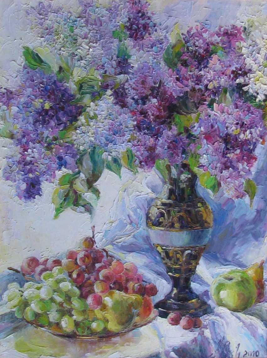 Irina Kruglova. Lilac and grapes - photo 1