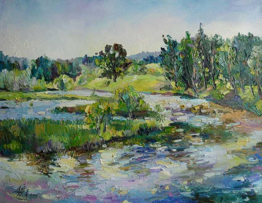 Irina Kruglova. Une journée ensoleillée sur l'étang - photo 1