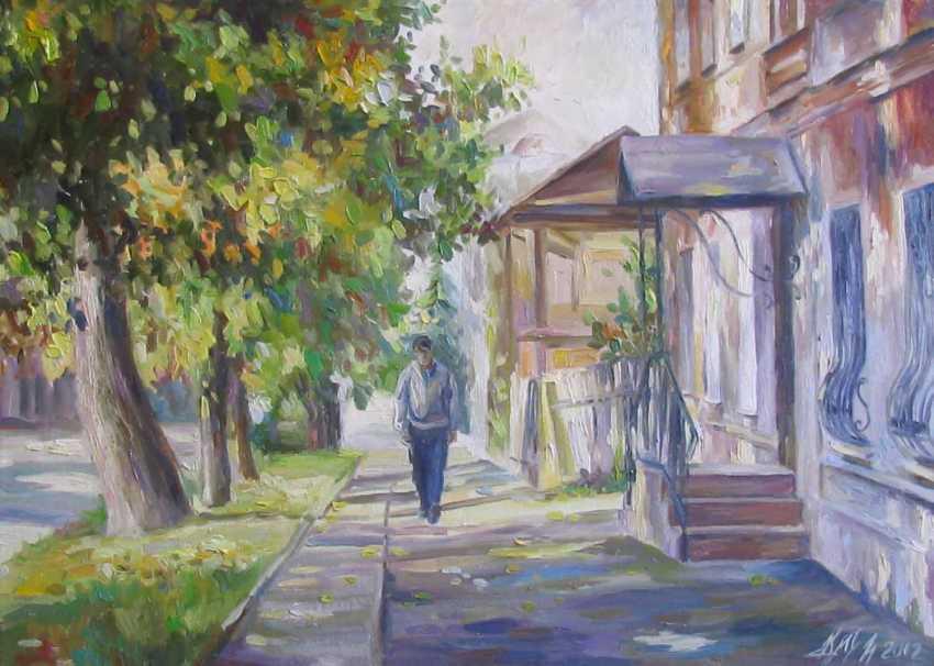 Irina Kruglova. Lenin Street. Ulyanovsk - photo 1