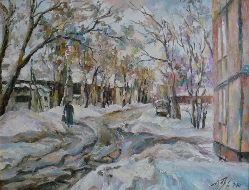 Irina Kruglova. Street Working. Ulyanovsk - photo 1