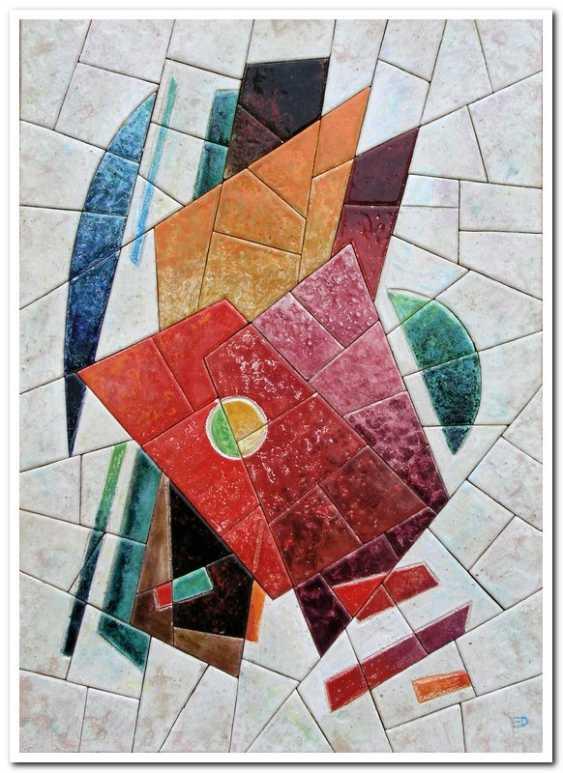 Ekaterina Dobrova. The memory of the Russian avant-garde 1(part of triptych) - photo 1