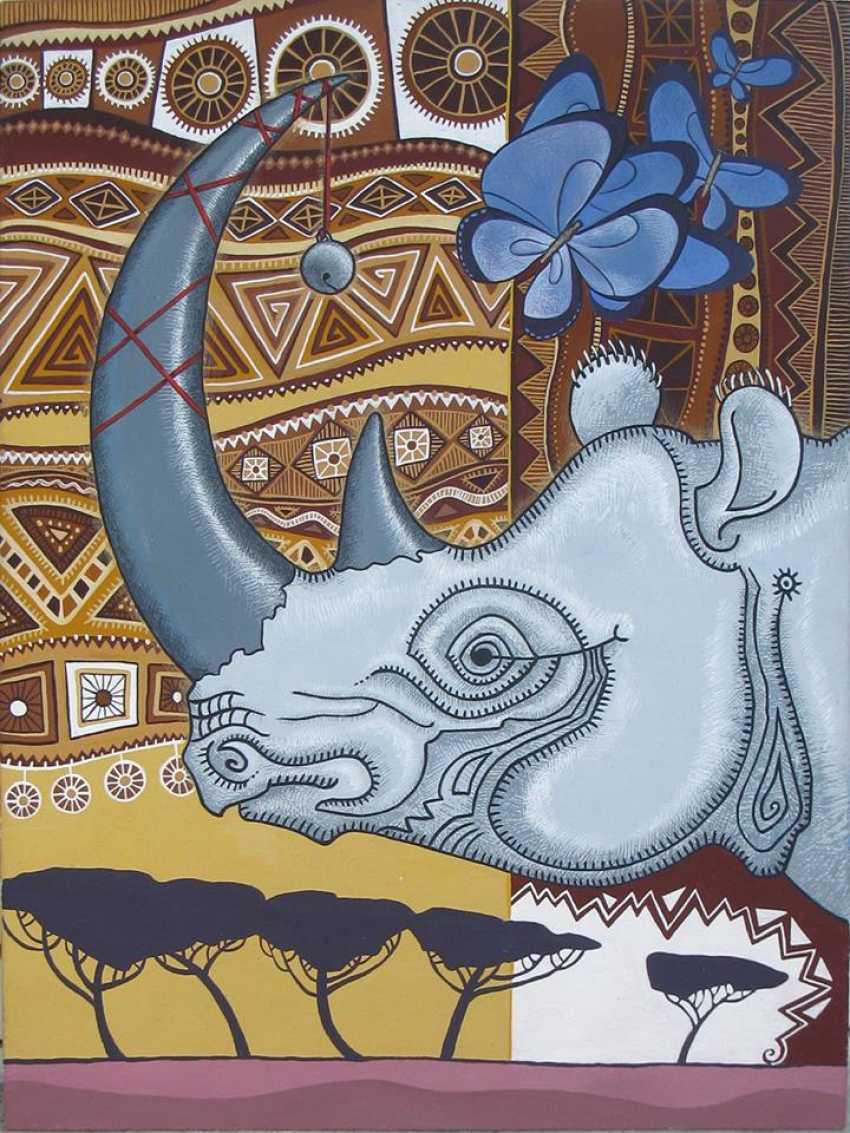 """Sviatlana Vetrava. """"Rhino"""" - photo 1"""