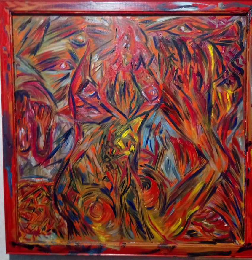 Pavel Puzir. Time and space in red color - photo 1