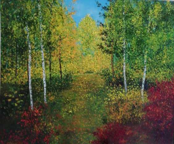 Lidiya Ivanova. Autumn in the forest. - photo 1