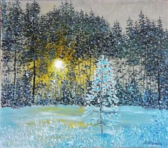 Lidiya Ivanova. Winter sun. - photo 1