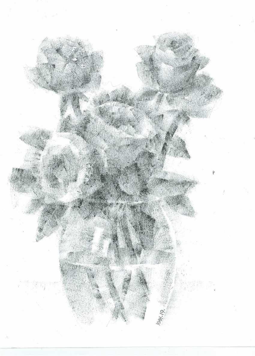 Yuri Kalashnikov. Roses - photo 1