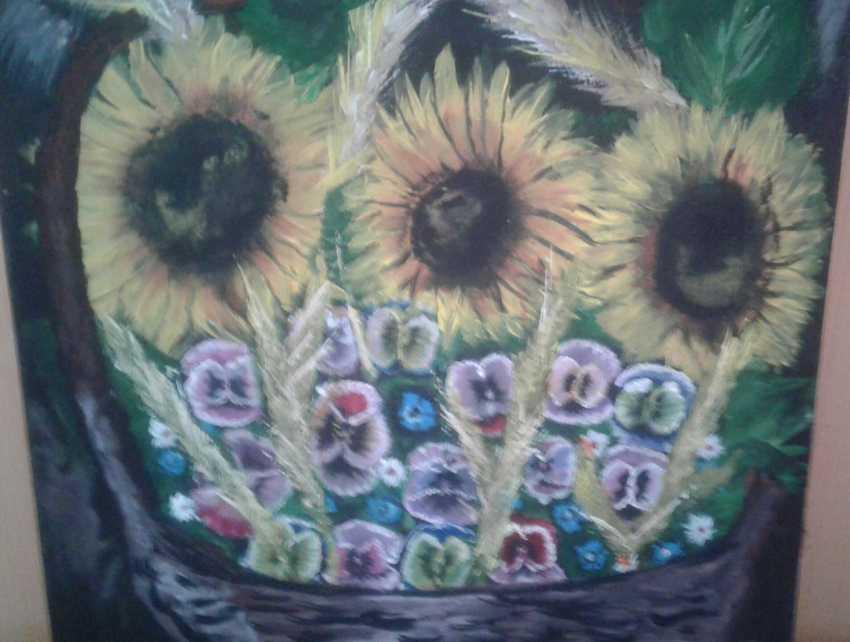 Anna Kuptsova. Sunflowers - photo 1