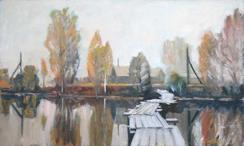 Alexander Bezrodnykh. Morning.Autumn - photo 1