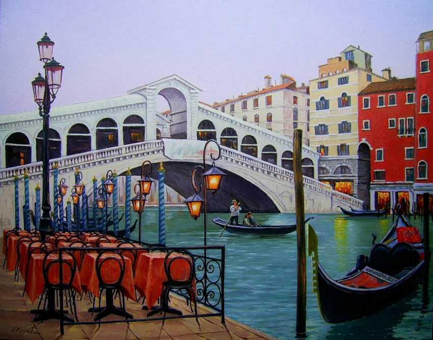Sergiy Kolba. The Rialto Bridge - photo 1