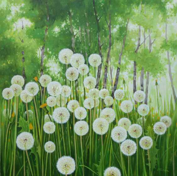 Sergiy Kolba. Spring landscape with dandelions - photo 1