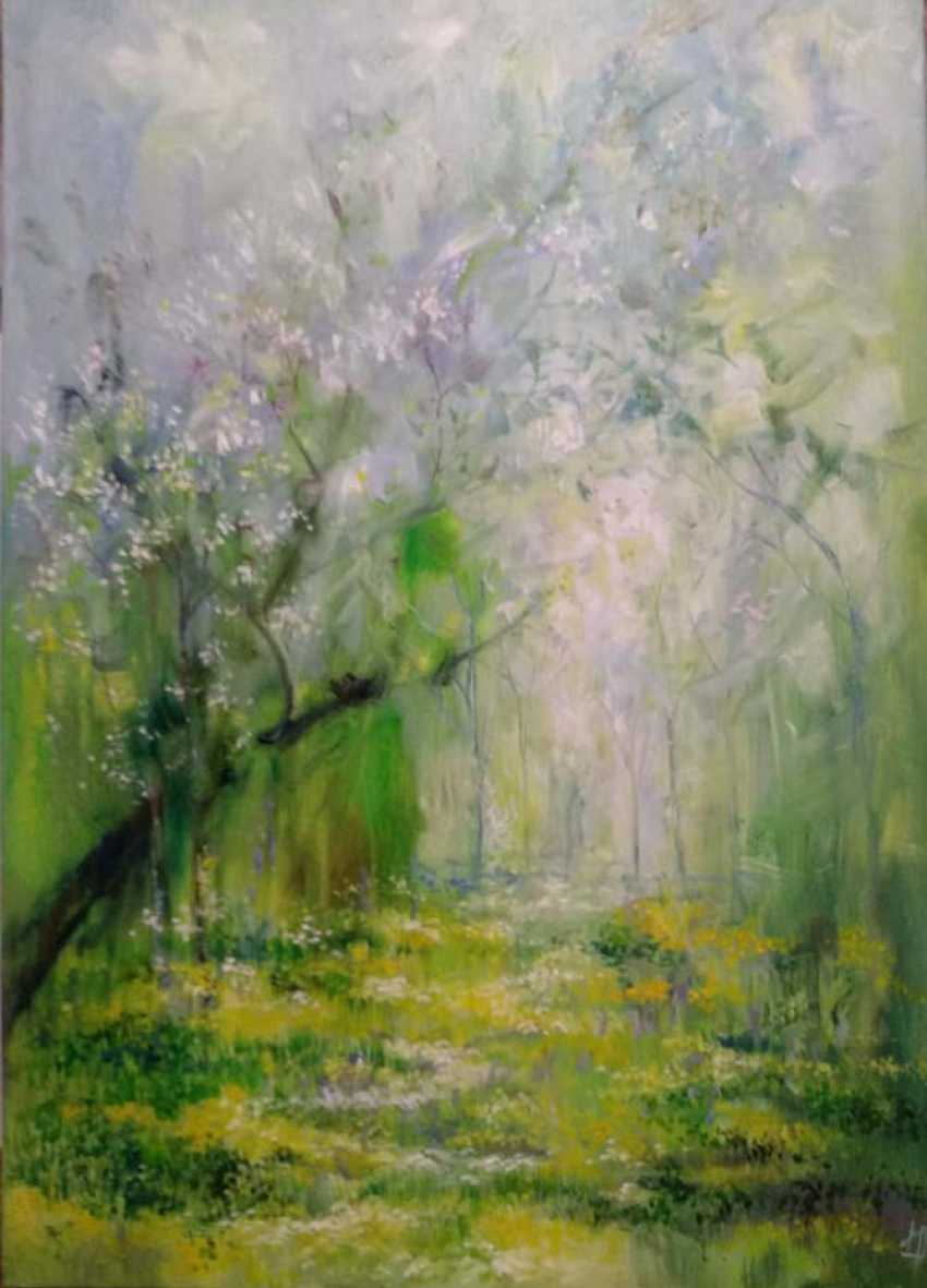 Natali Romanovskaya. breath of spring - photo 1