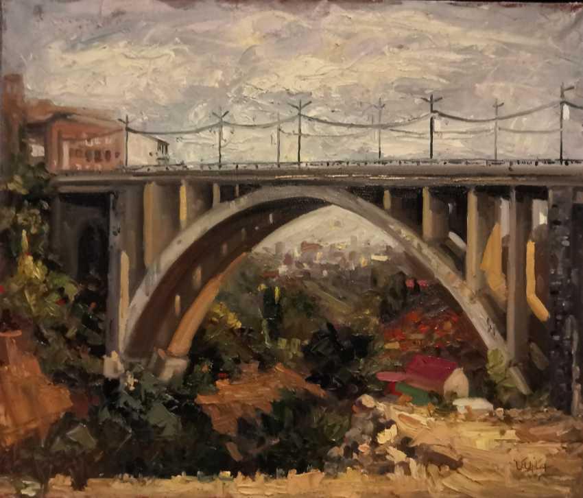 Areg Mirijanyan. Bridge in Yerevan - photo 1