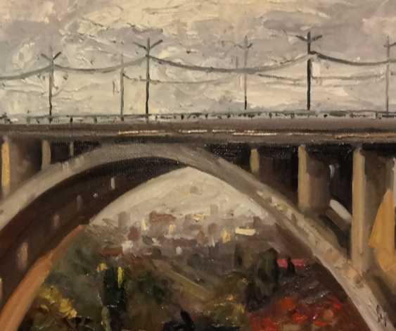 Areg Mirijanyan. Bridge in Yerevan - photo 2