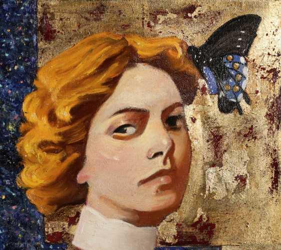 Areg Mirijanyan. Girl with butterfly - photo 2