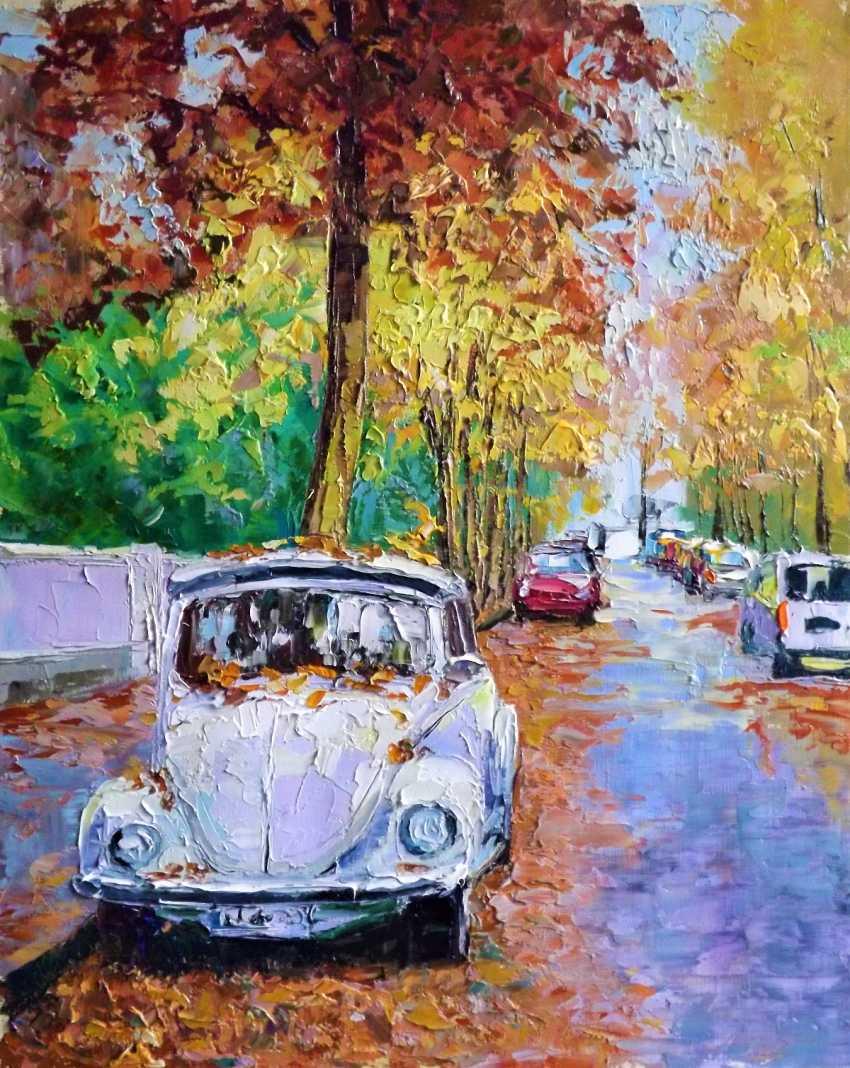 Sergey Efremov. Silence autumn streets - photo 1