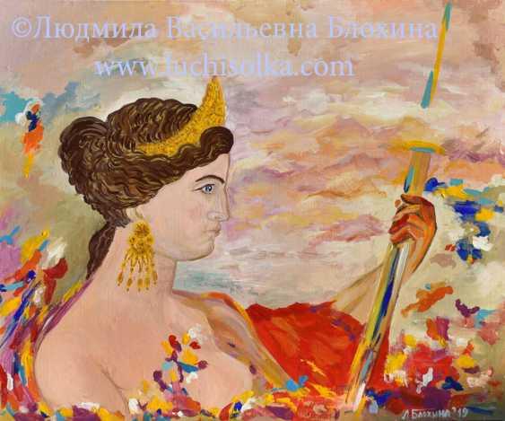 Ludmila Vasilevna Blohina. An image of Venus de Milo, The true image of the Venus of Milo - photo 1