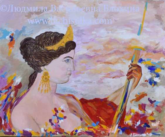 Ludmila Vasilevna Blohina. An image of Venus de Milo, The true image of the Venus of Milo - photo 2