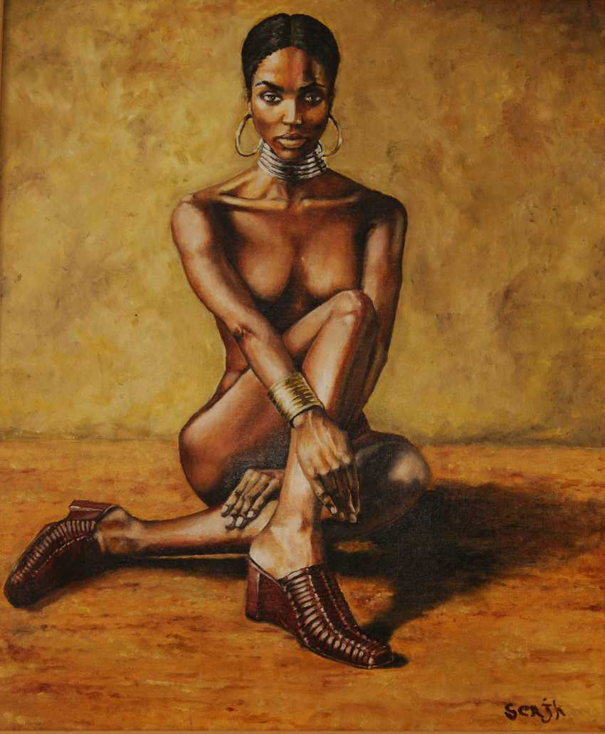 sergey kirillov. black woman - photo 1